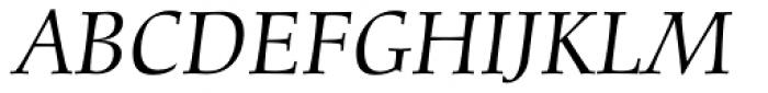 Diotima Classic Pro Italic Font UPPERCASE