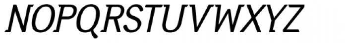 Diphthong Italic Font UPPERCASE