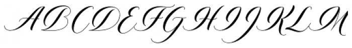Diploma Script Basic Font UPPERCASE
