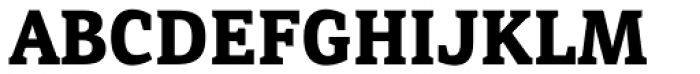 Directa Serif Bold Font UPPERCASE