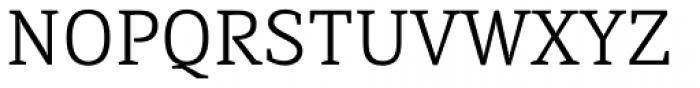 Directa Serif Light Font UPPERCASE