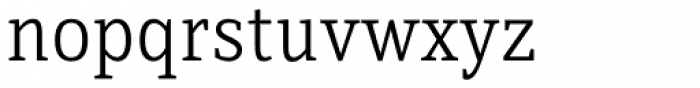 Directa Serif Light Font LOWERCASE