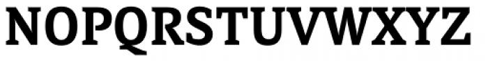 Directa Serif SemiBold Font UPPERCASE