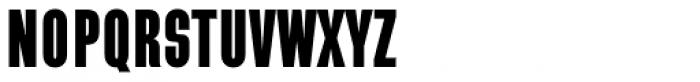 Directors Gothic 210 Black Font UPPERCASE