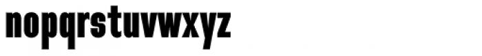 Directors Gothic 210 Black Font LOWERCASE