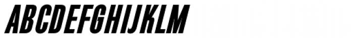 Directors Gothic 210 Bold Obl Font UPPERCASE