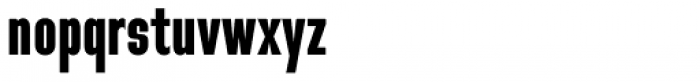 Directors Gothic 210 Bold Font LOWERCASE