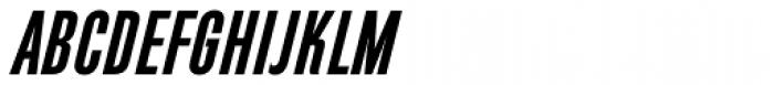 Directors Gothic 210 SemiBold Obl Font UPPERCASE