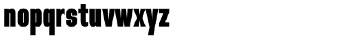 Directors Gothic 210 Ultra Font LOWERCASE