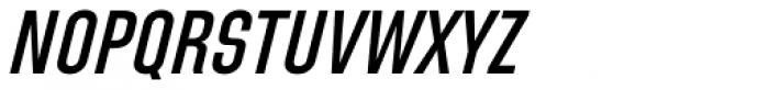 Directors Gothic 220 SemiBold Obl Font UPPERCASE
