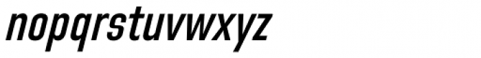Directors Gothic 220 SemiBold Obl Font LOWERCASE