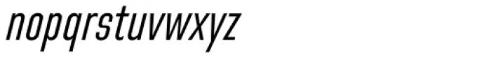 Directors Gothic 230 Regular Obl Font LOWERCASE
