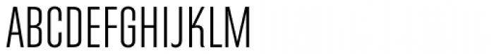 Directors Gothic 240 Light Font UPPERCASE