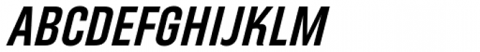 Directors Gothic 240 SemiBold Obl Font UPPERCASE