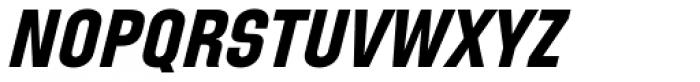 Directors Gothic 250 Bold Obl Font UPPERCASE