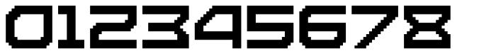 Disassembler Font OTHER CHARS