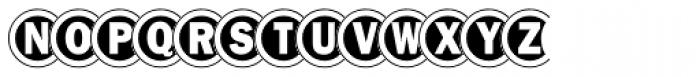 Disco Font UPPERCASE