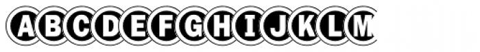 Disco Font LOWERCASE
