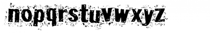 Disgrunged_Three Font LOWERCASE