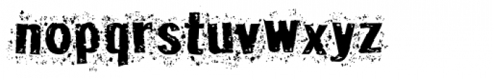 Disgrunged_Two Font LOWERCASE