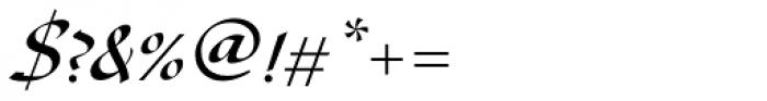 Diskus D Medium Font OTHER CHARS
