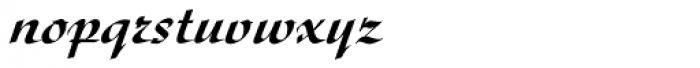 Diskus D Medium Font LOWERCASE