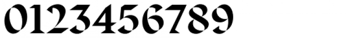 Displace Serif Bold Font OTHER CHARS