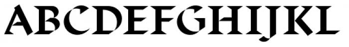 Displace Serif Bold Font UPPERCASE
