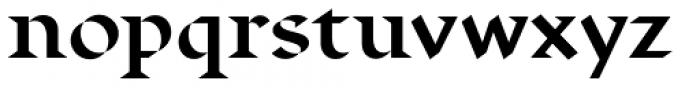 Displace Serif Bold Font LOWERCASE