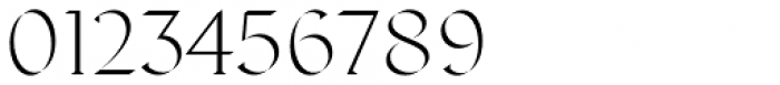 Displace Serif Light Font OTHER CHARS