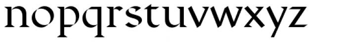 Displace Serif Medium Font LOWERCASE