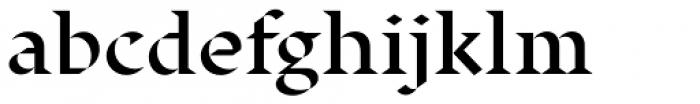 Displace Serif Semi Bold Font LOWERCASE