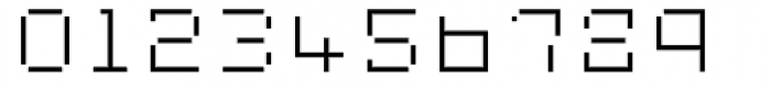 Displacement Mass Font OTHER CHARS
