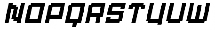 Displacement Weight Italic Font LOWERCASE