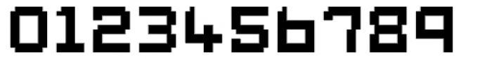 Displacement Weight Font OTHER CHARS