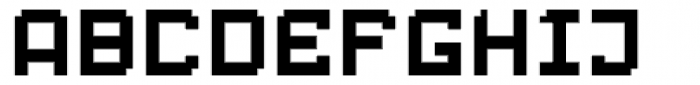 Displacement Weight Font UPPERCASE