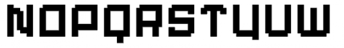 Displacement Weight Font LOWERCASE