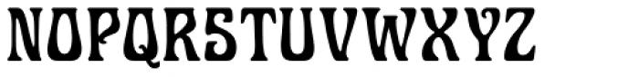 Display Art Three Font UPPERCASE