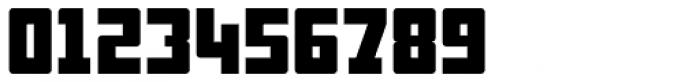 Display Digits Six Font OTHER CHARS