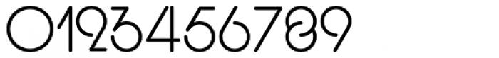 Display Digits Three Font OTHER CHARS