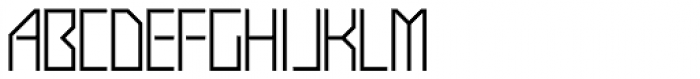 Display Exquisite Font UPPERCASE