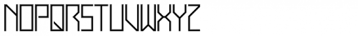 Display Exquisite Font LOWERCASE