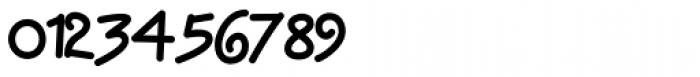 Display Haphazard Font OTHER CHARS