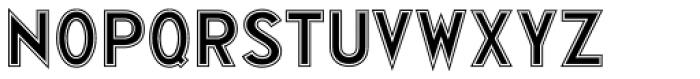 Display Inline JNL Font LOWERCASE