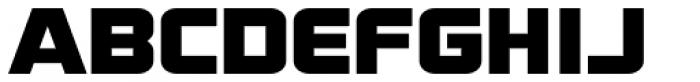 Display Plump Font LOWERCASE