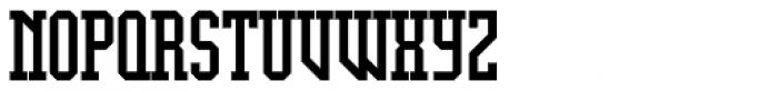 Display University Font UPPERCASE