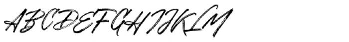 Disruptor's Script  Font UPPERCASE