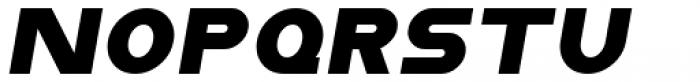 Distance Rider Italic Font LOWERCASE