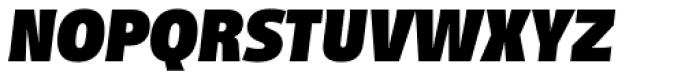 Distefano Sans Black Italic Font UPPERCASE