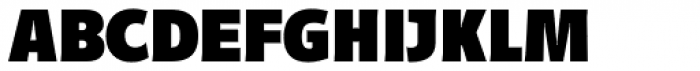 Distefano Sans Black Font UPPERCASE